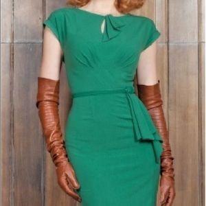 Stop Staring Dresses - Stop Staring green 1940's dress M L